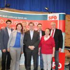 Auf viel Begeisterung stieß der stellvertretende SPD-Parteivorsitzende Ralf Stegner bei seinem Auftritt.